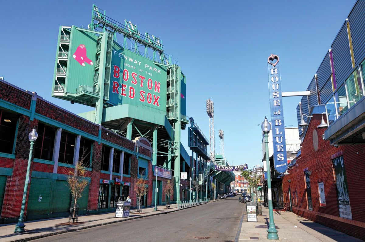 Tie up and take public transportation to Fenway Park.