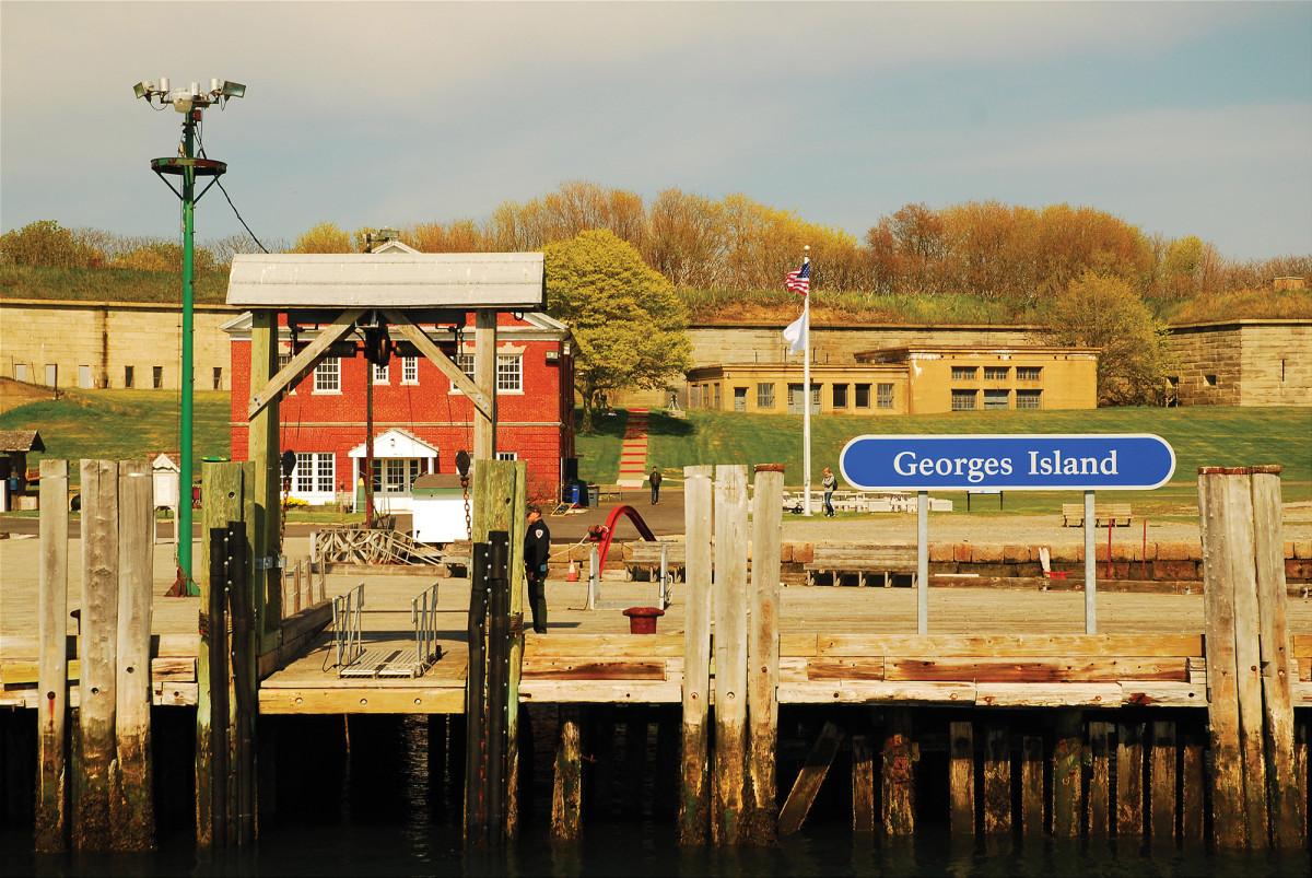 One of the Boston Harbor Islands.