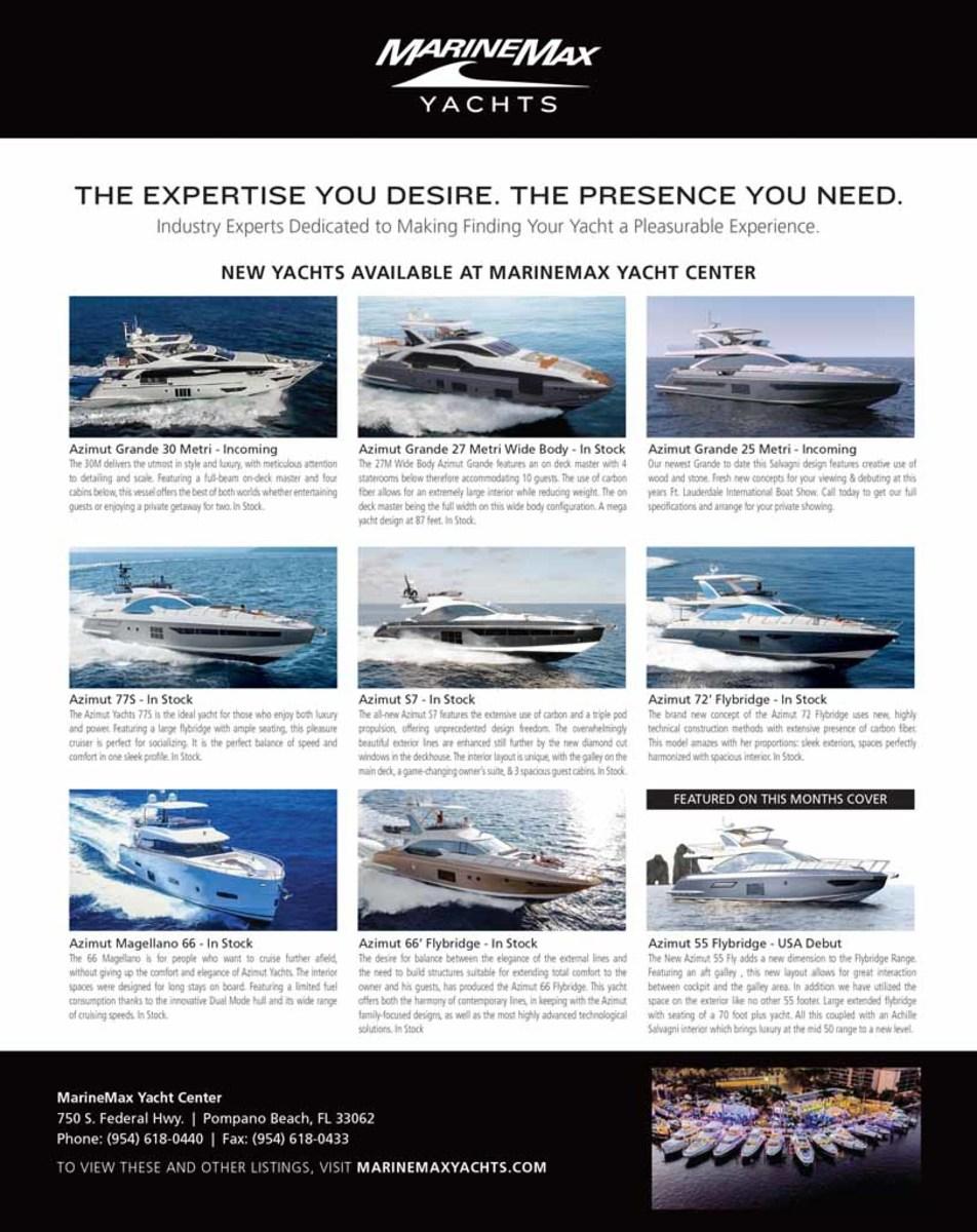 October 2018 Select Brokerage - Power & Motoryacht