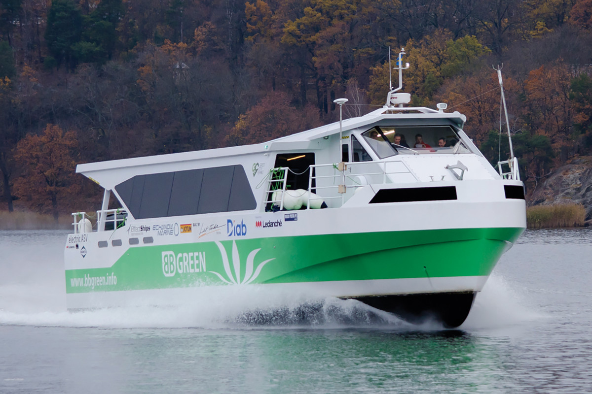 Volvo's also involved in high-profile electric ferry projects in Europe.