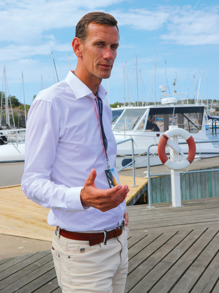 Volvo Penta's Senior VP and Chief Technical Officer Johan Inden.