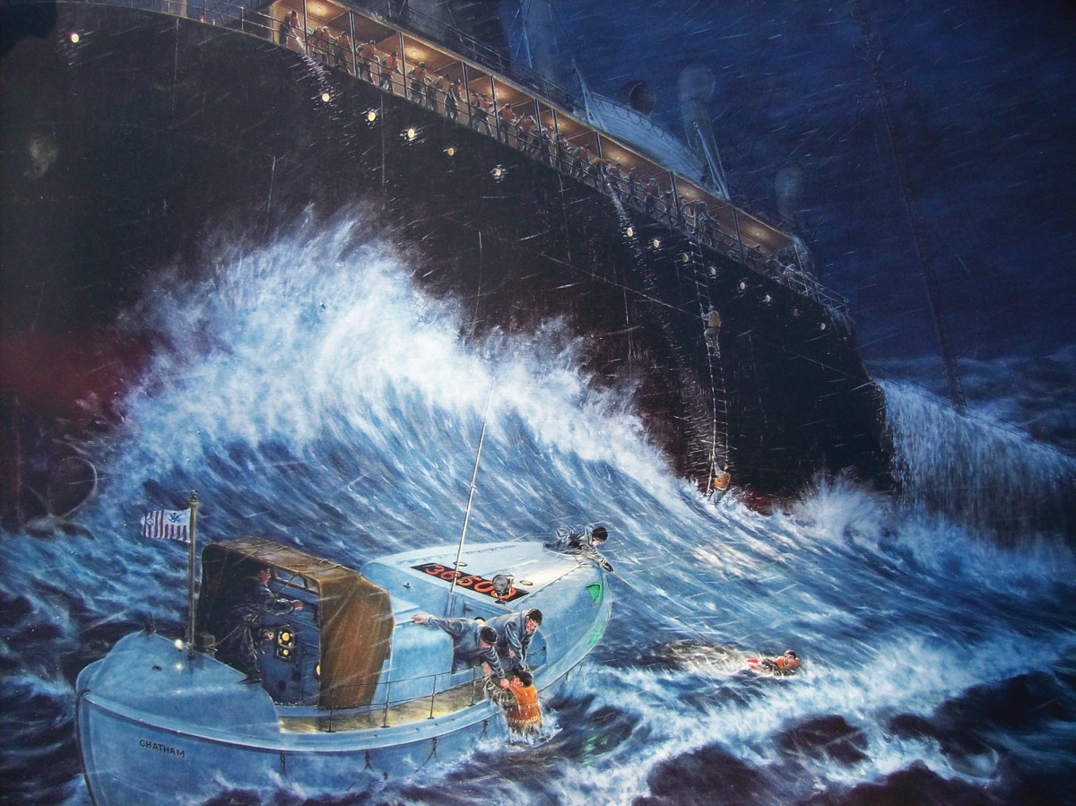 The Pendleton was one of two 500-tankers split in half by a violent nor'easter in the winter of '52, setting the stage for some true heroics.