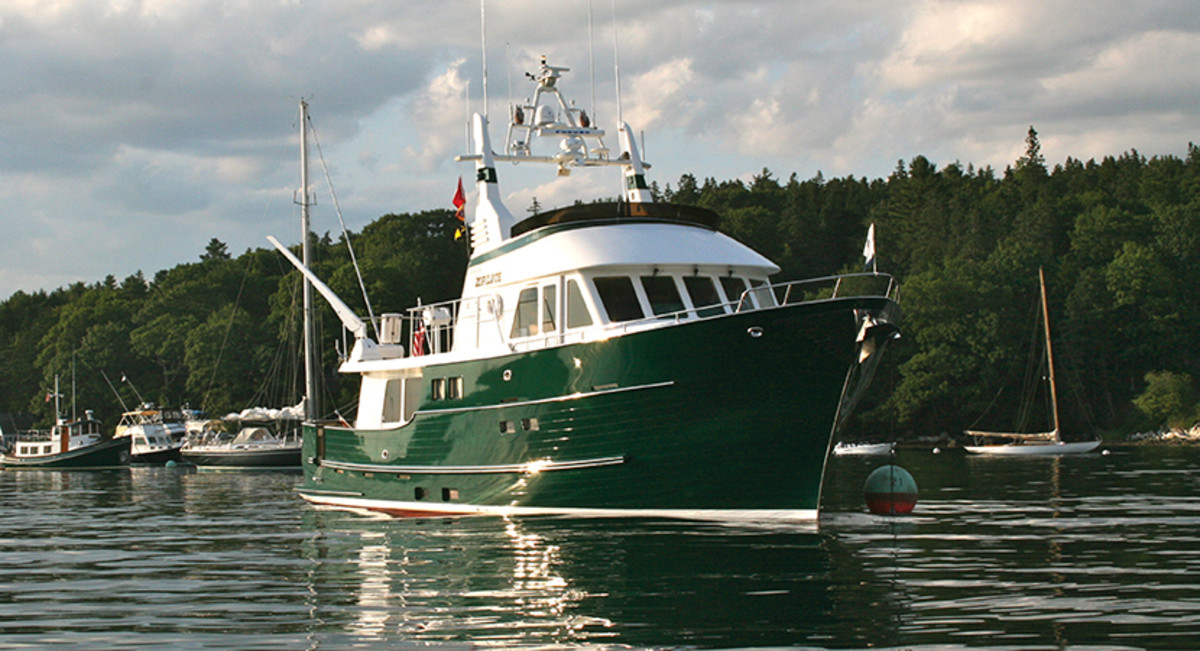 The 62-foot Northern Marine trawler, Spirit of Zopilote.