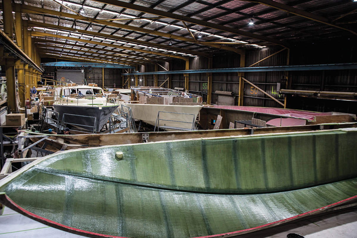 Palm Beach Motor Yachts Yard