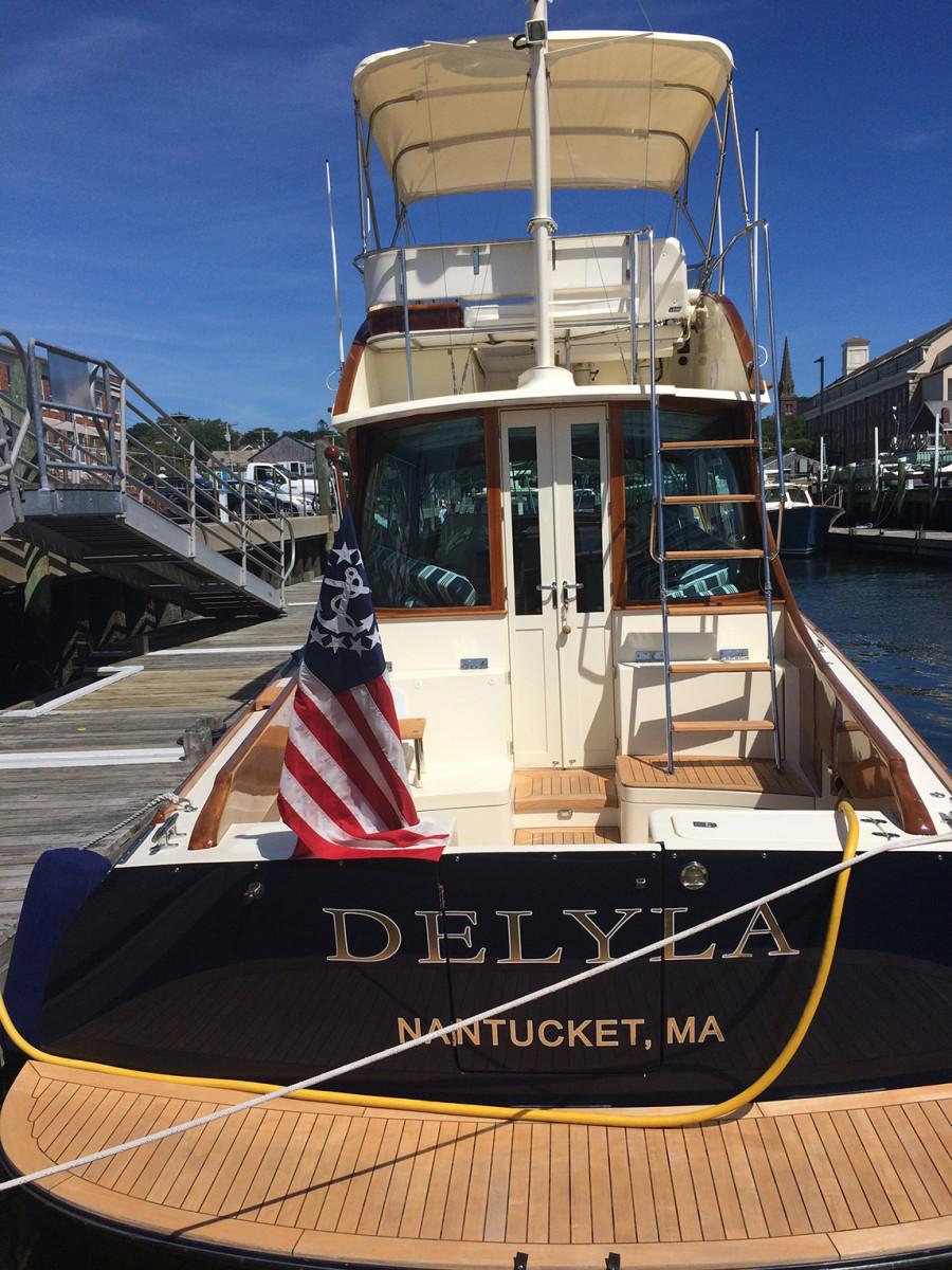 Hinckley Yacht at Hinckley Rendezvous 2016