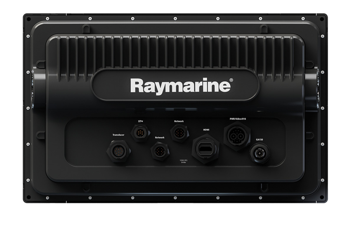 eS Series unit from Raymarine - back view