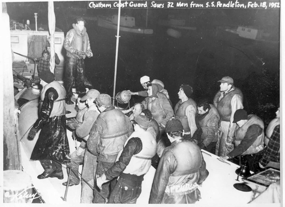 USS Pendleton survivors