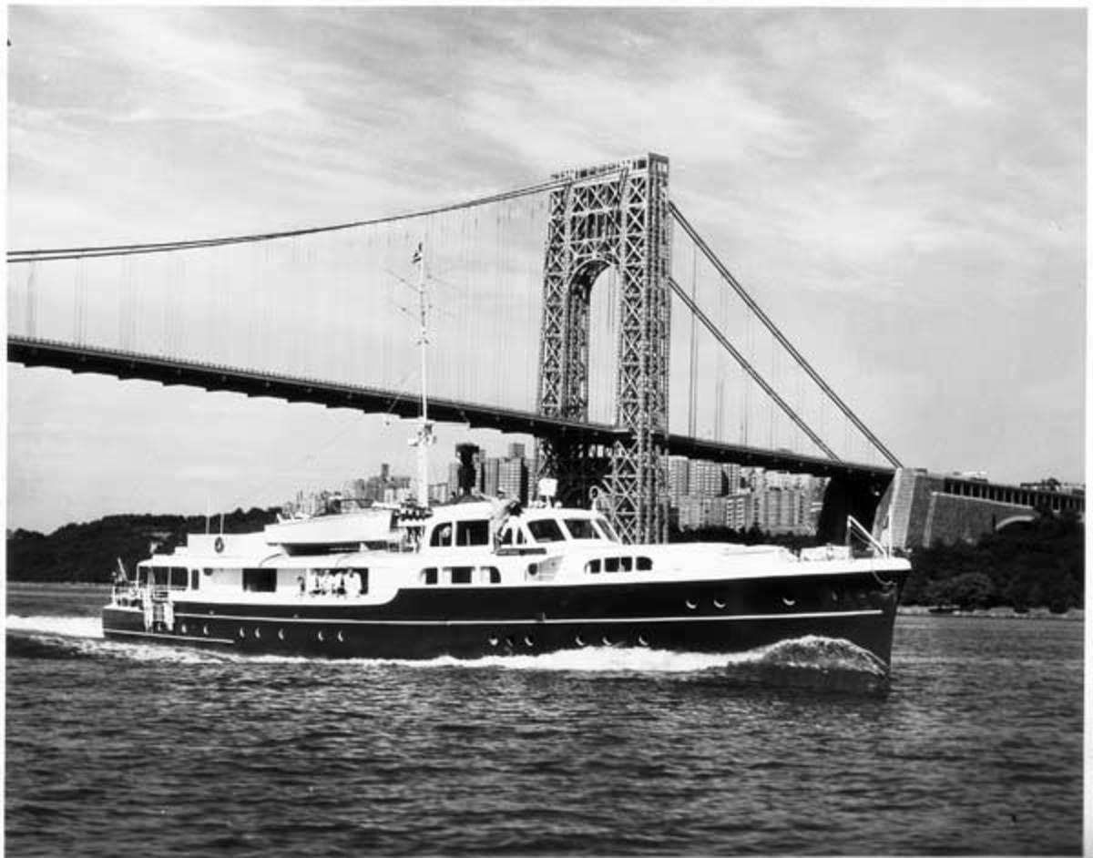 Frances Langford Yacht