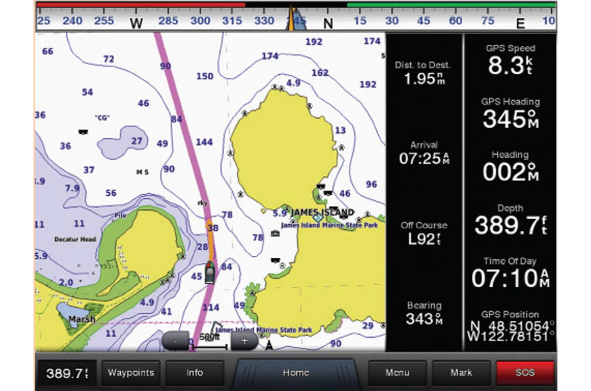 Garmin BlueChart g2 HD and BlueChart g2 Vision HD Cartography