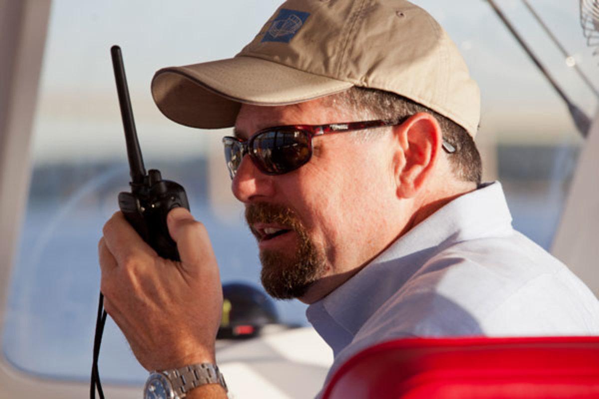 Larry Polster, Vice President of Kadey-Krogen Yachts