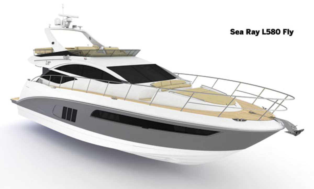 Sea Ray L580 Fly