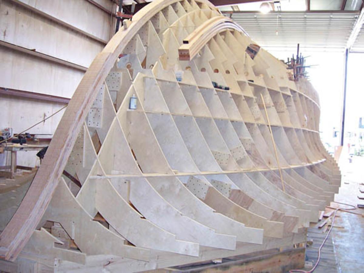 Cold-Molded Carolina Boats - Power & Motoryacht