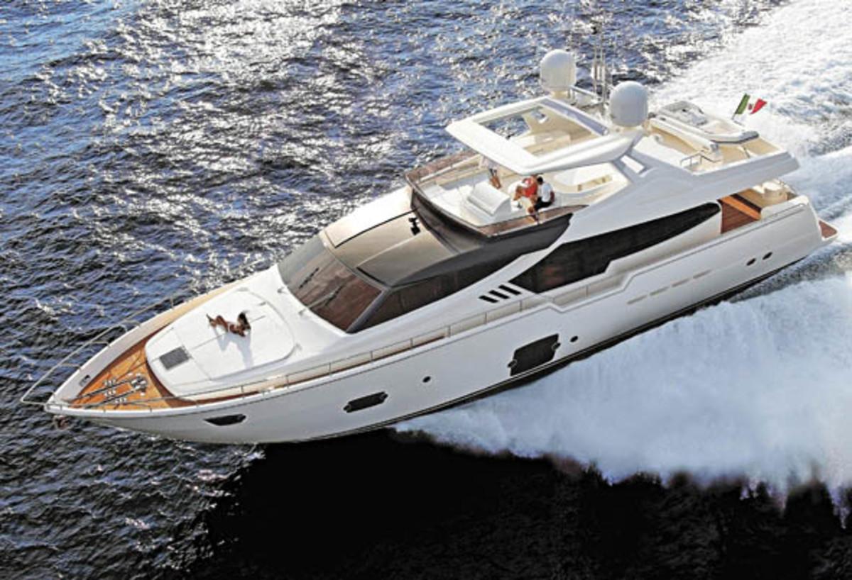 Ferretti 870 motoryacht
