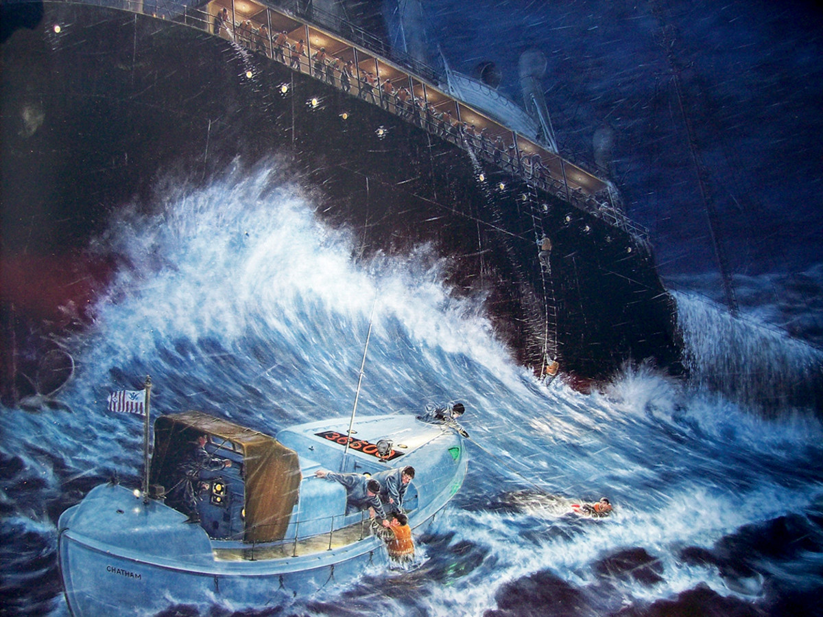 Painting of USS Pendleton by Tony Falcone
