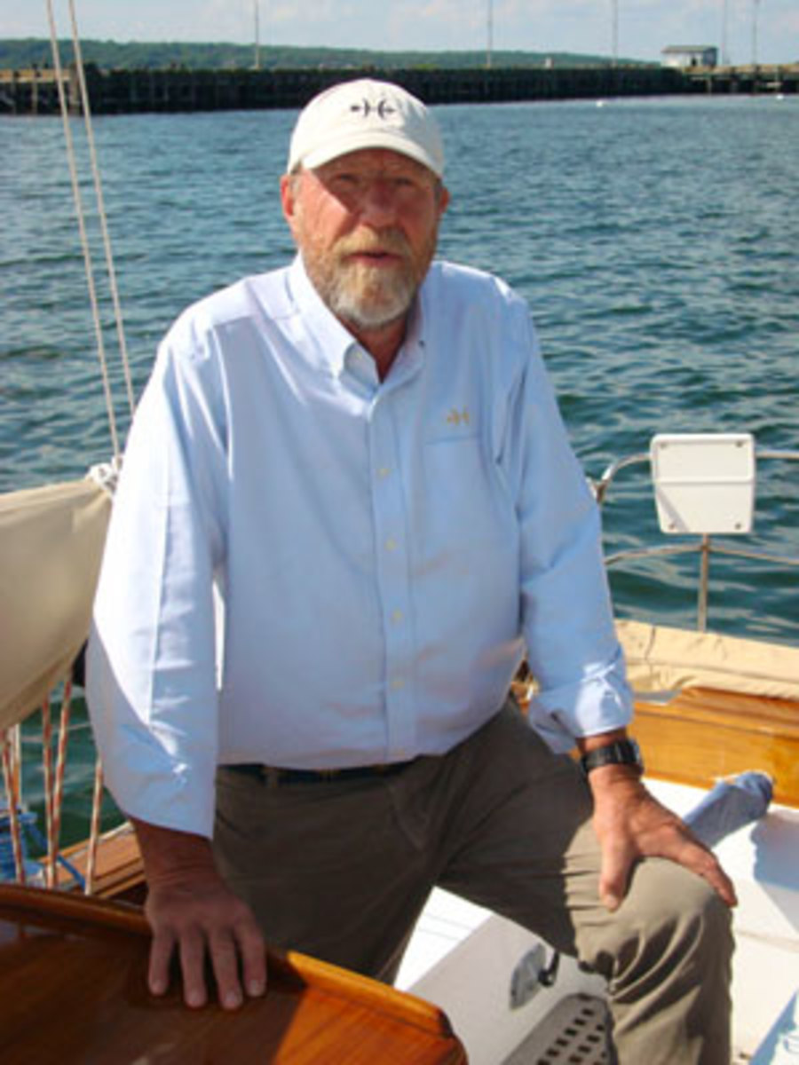 Peter Van Lancker, President of Hunt Yachts