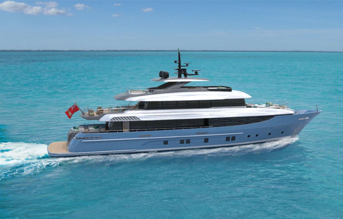Rossinavi Bahamas 130