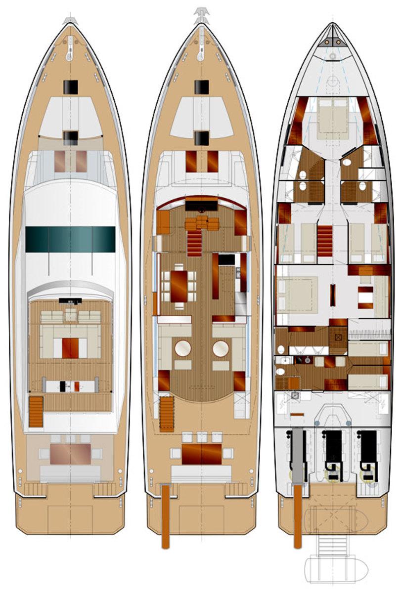 Delta 88 deck plans