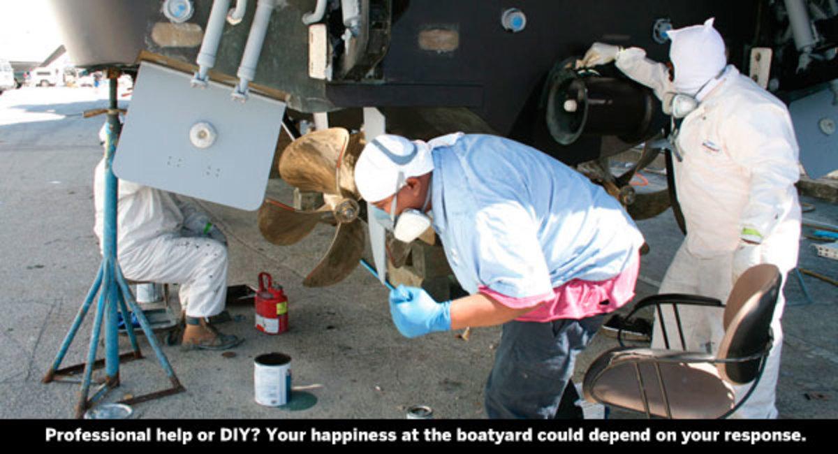boatyard workers