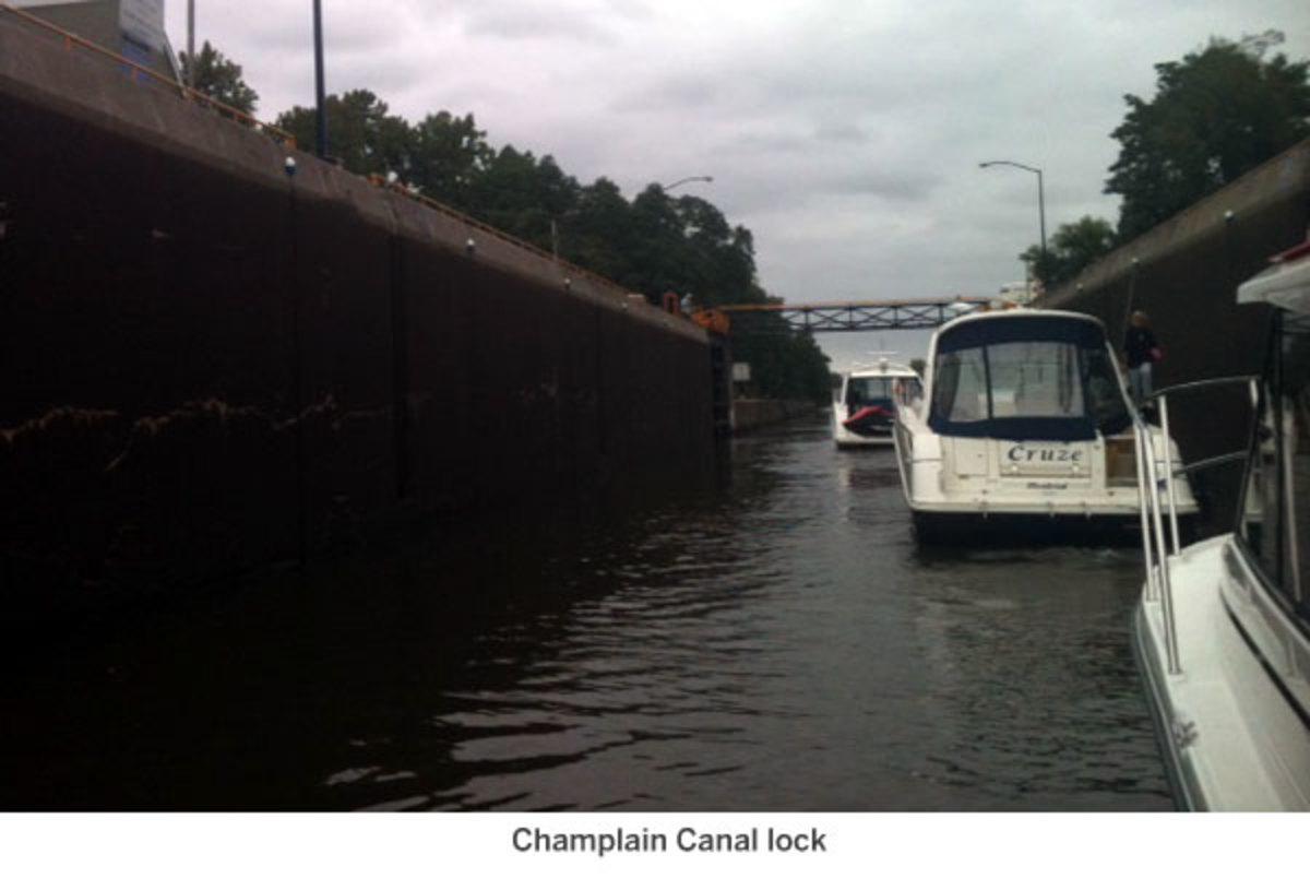 Champlain Canal lock