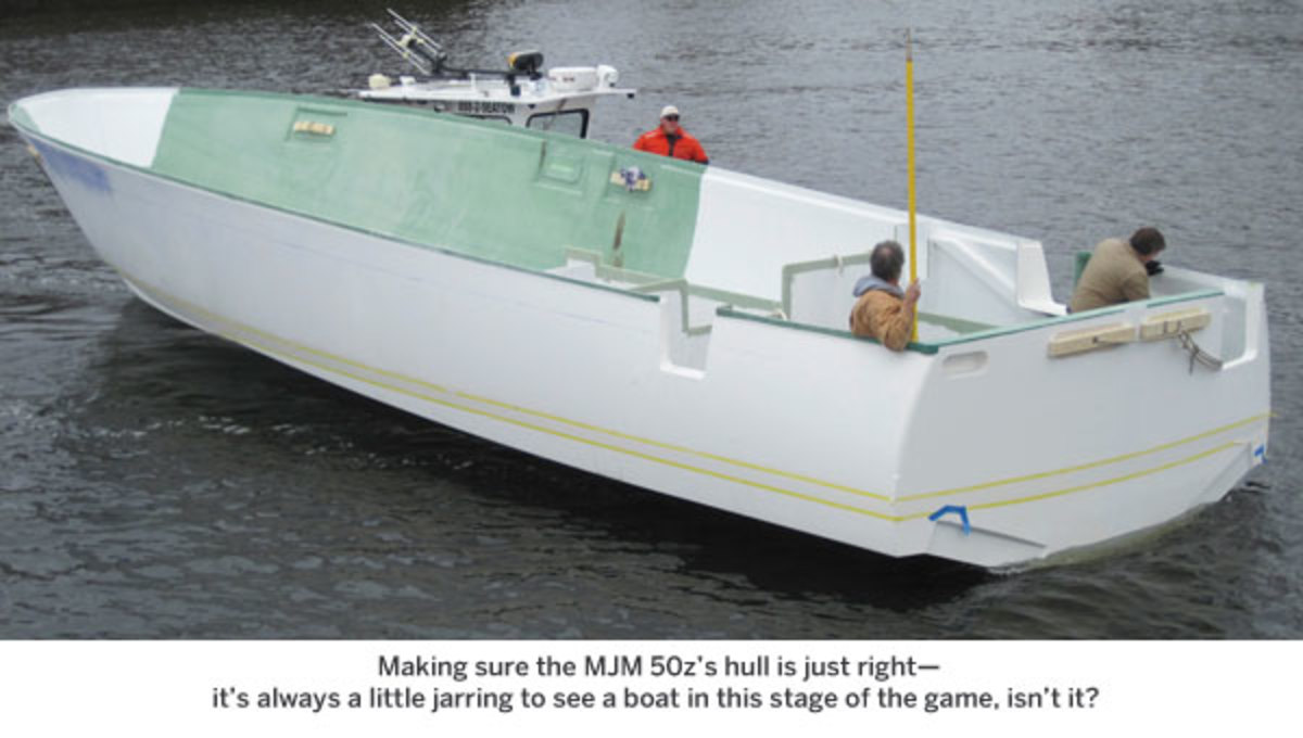 MJM 50Z hull float