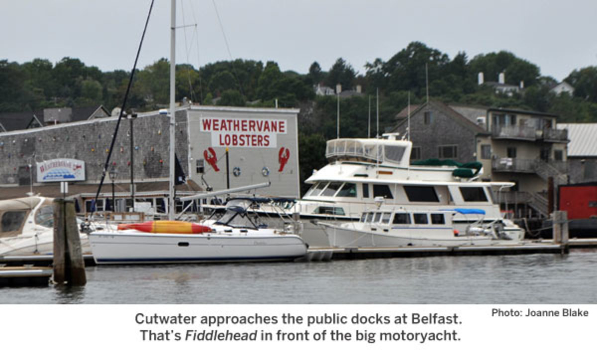 the public docks at Belfast