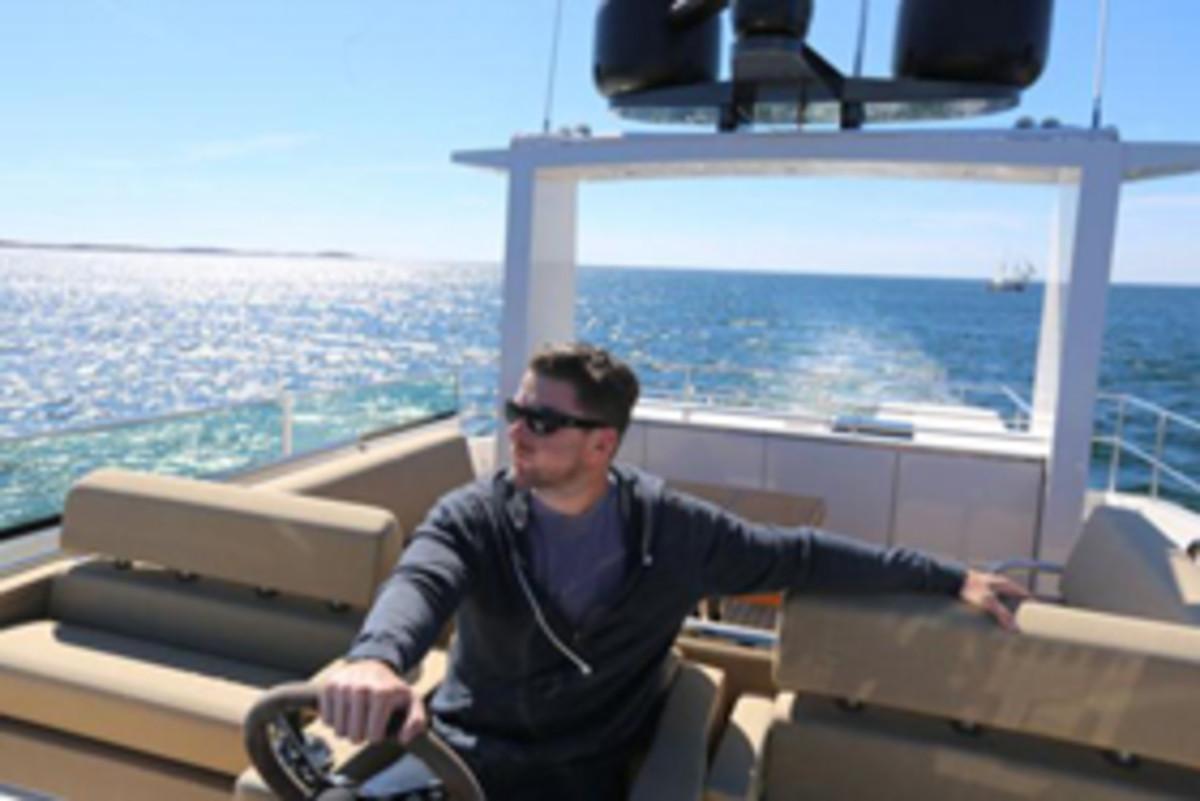Kevin Koenig on the Delta 88 in Sweden
