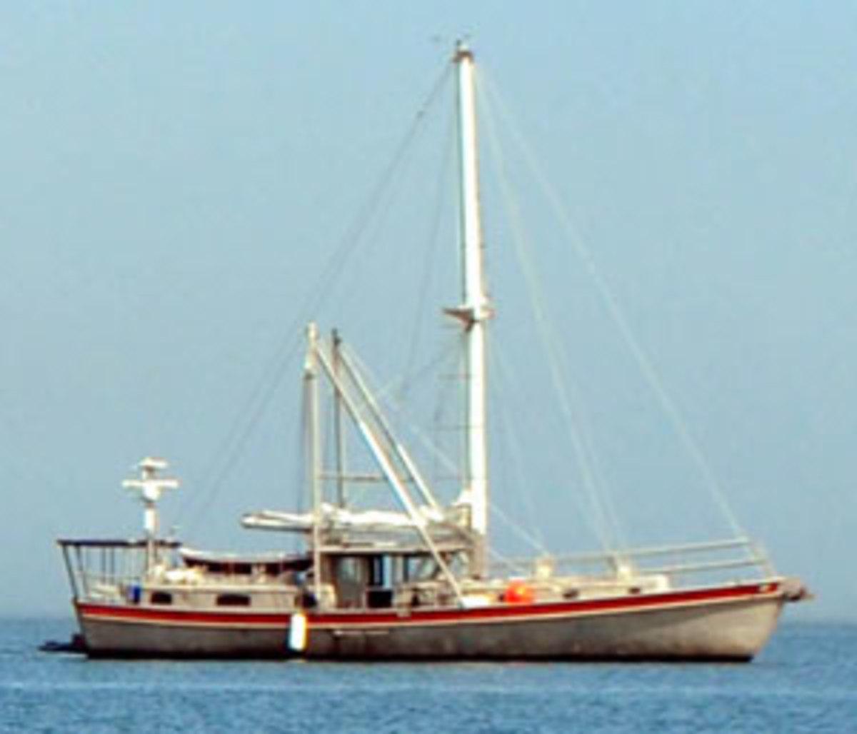 Trawler closeup