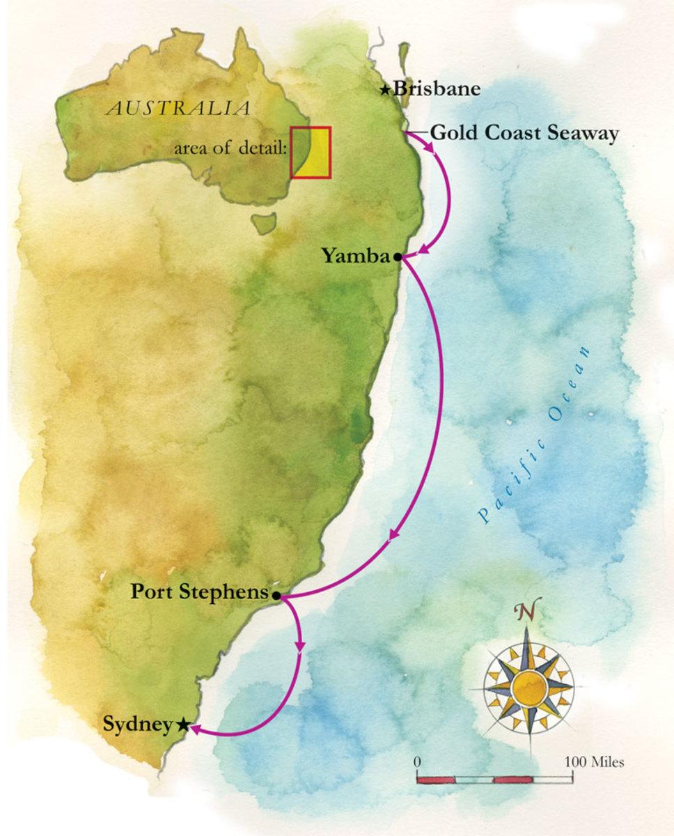 Austailia map