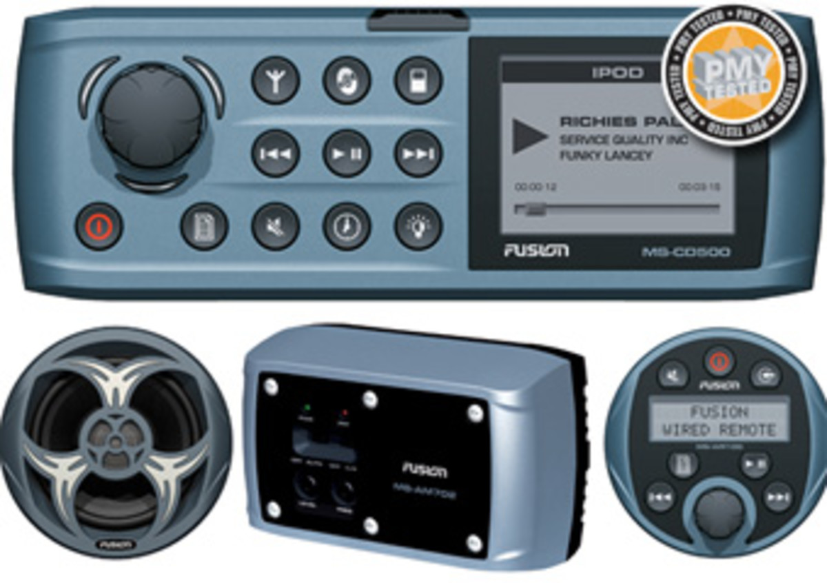 Fusion Marine Stereo - Power & Motoryacht