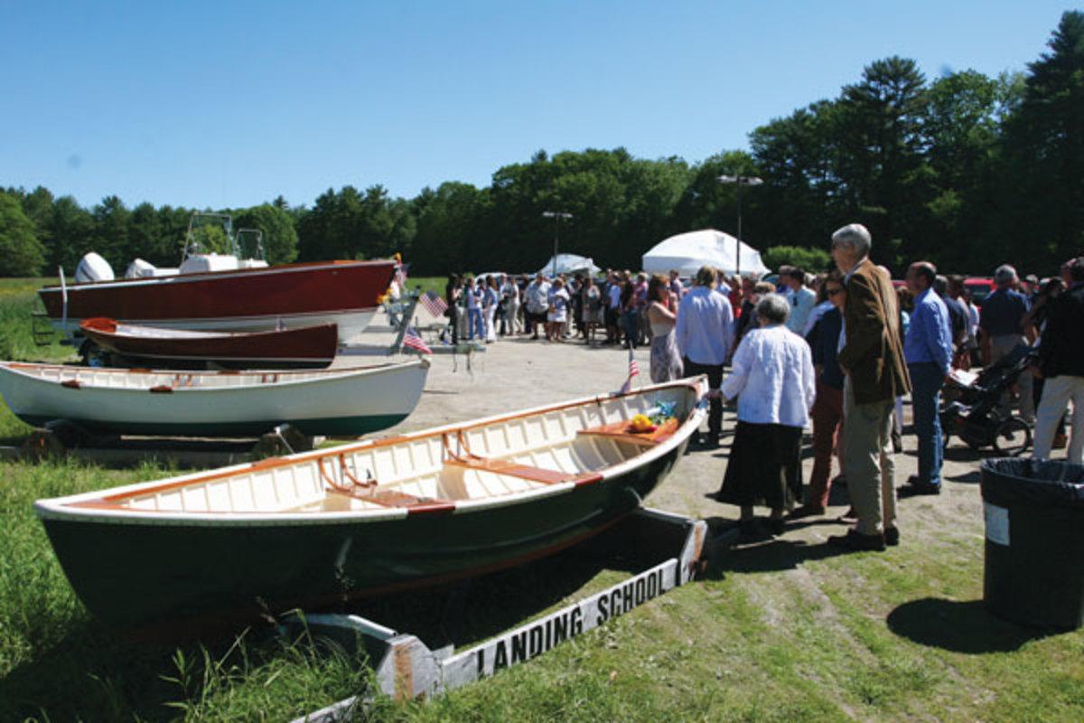 Landing School boats