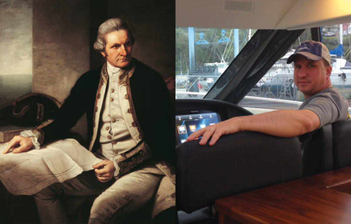 Capt. James Cook and George Sass Jr.