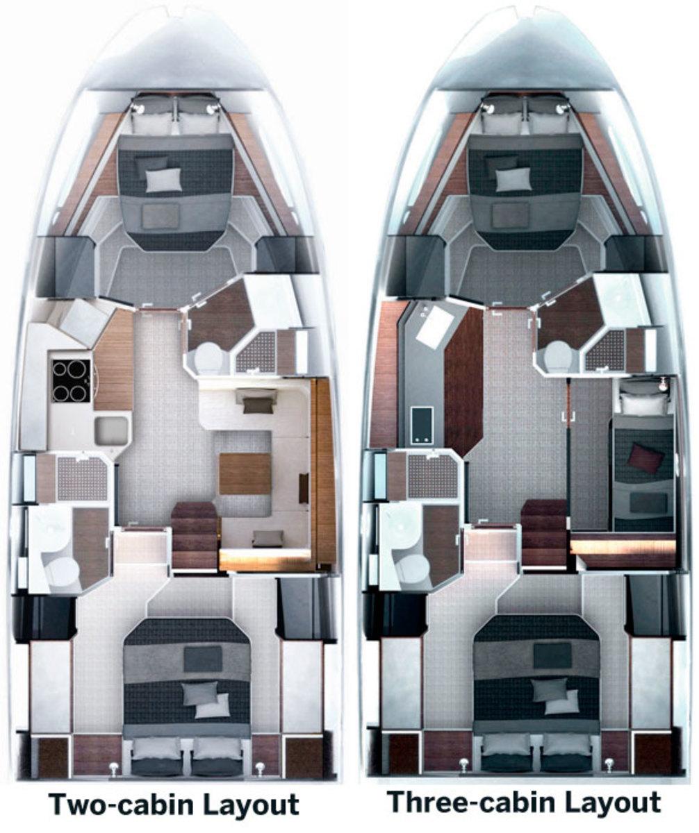 Atlantis 50 layout options