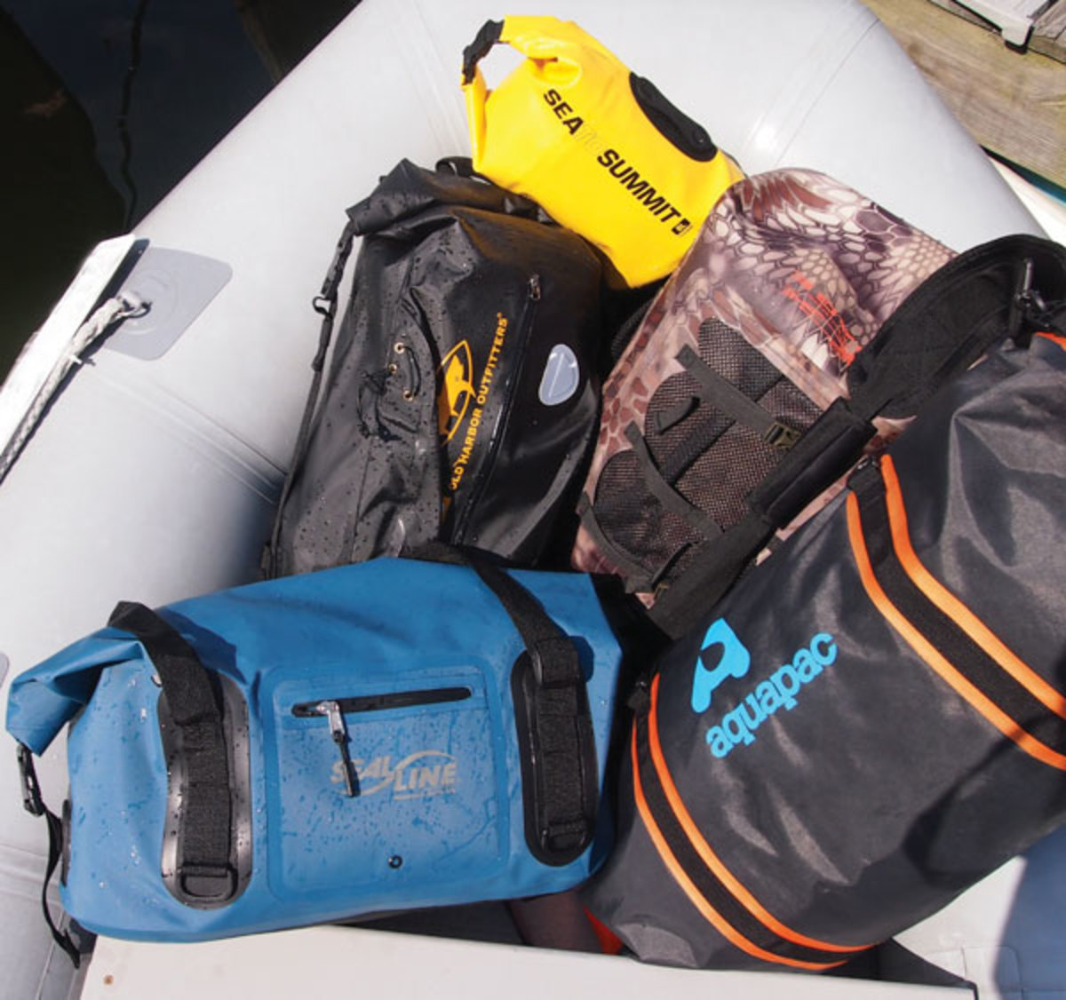 Drybags for boaters