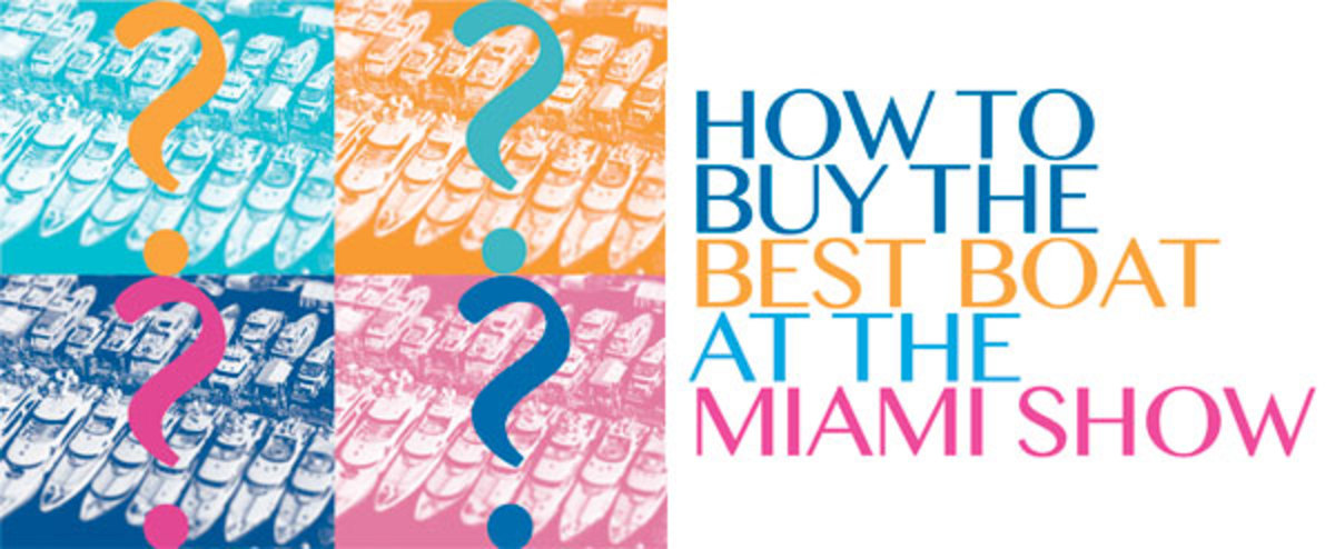 How to Buy the Best Boat at the Miami Show