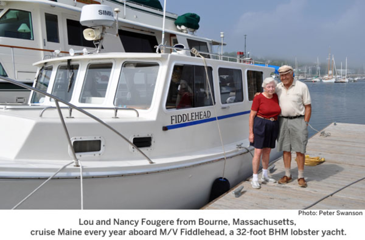 M/V Fiddlehead, a 32-foot BHM lobster yacht