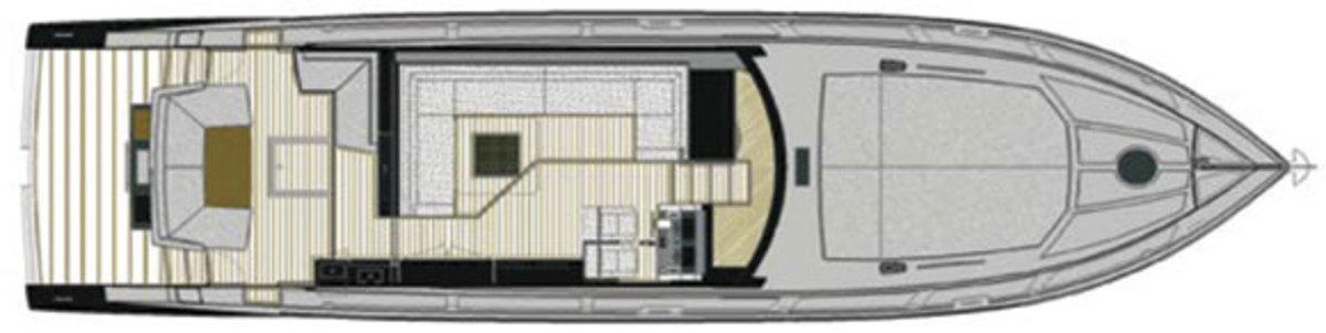 Rio Yachts 56 Granturismo deckplans - main deck
