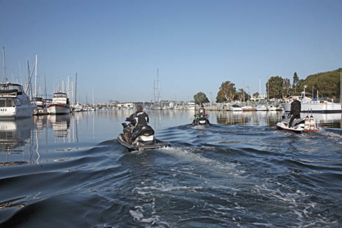 Jet Skiing From Los Angeles To San Diego Power Motoryacht