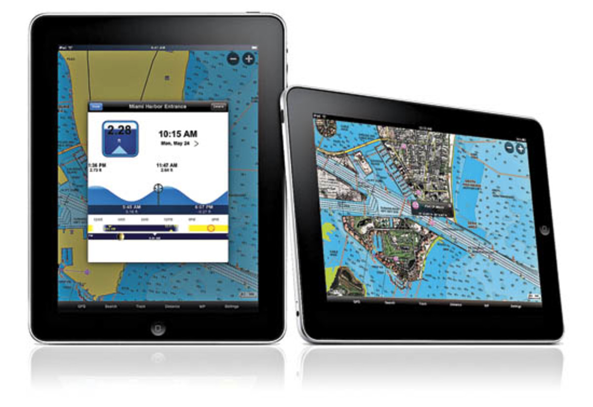 Navionics App for iPad & iPhone - Power & Motoryacht