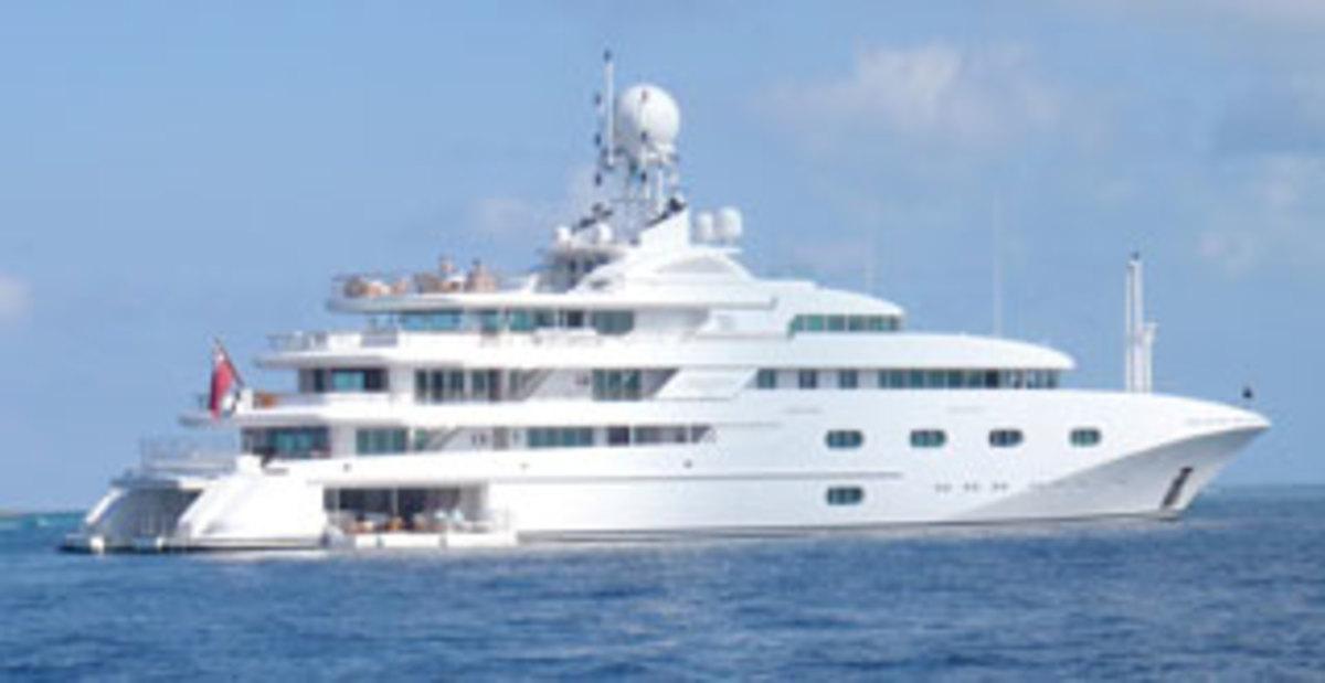 Pegasus V in Bahamas