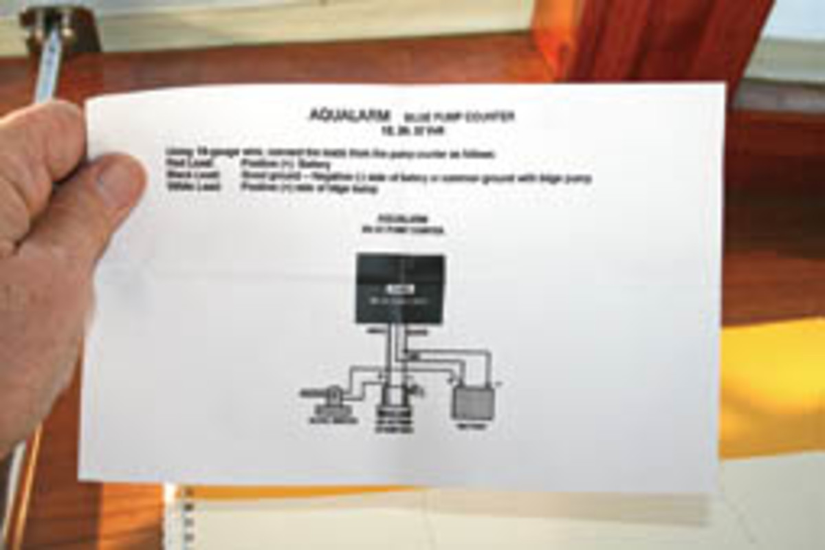Bilge Pump Early Warning System Power Motoryacht Large Pumps Wiring Diagram Monitoring Activity The Handbook Concluded Provides A Trustworthy Advance Of Disaster