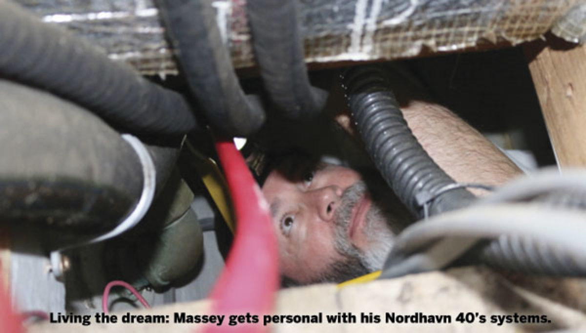 Massey gets personal with his Nordhavn 40's systems