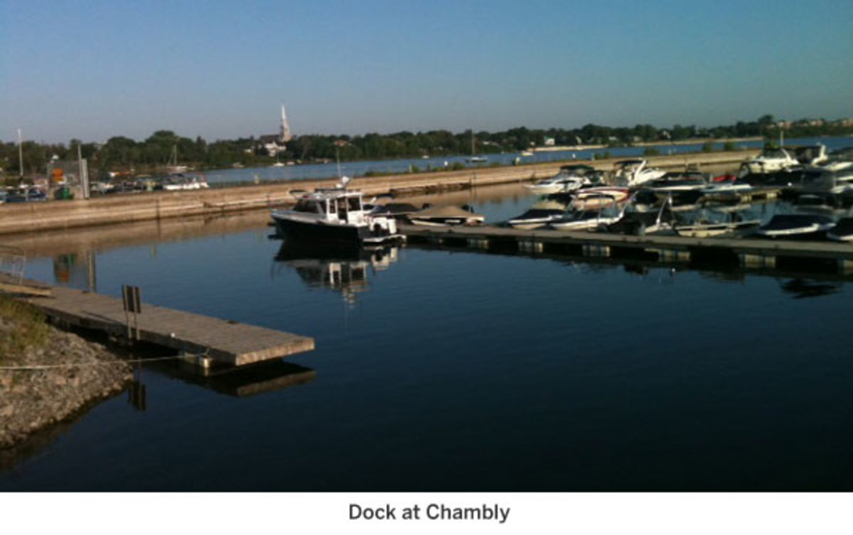 Dock at Chambly