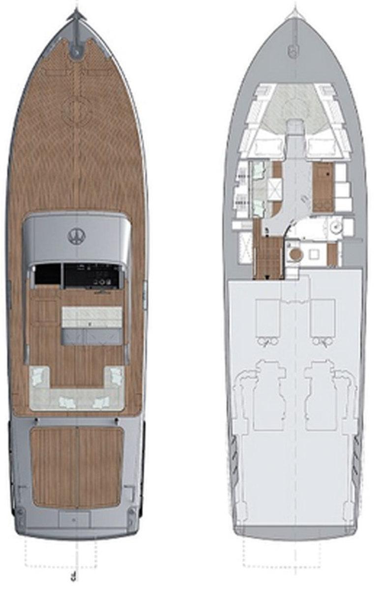 Baglietto MV13 Deckplans