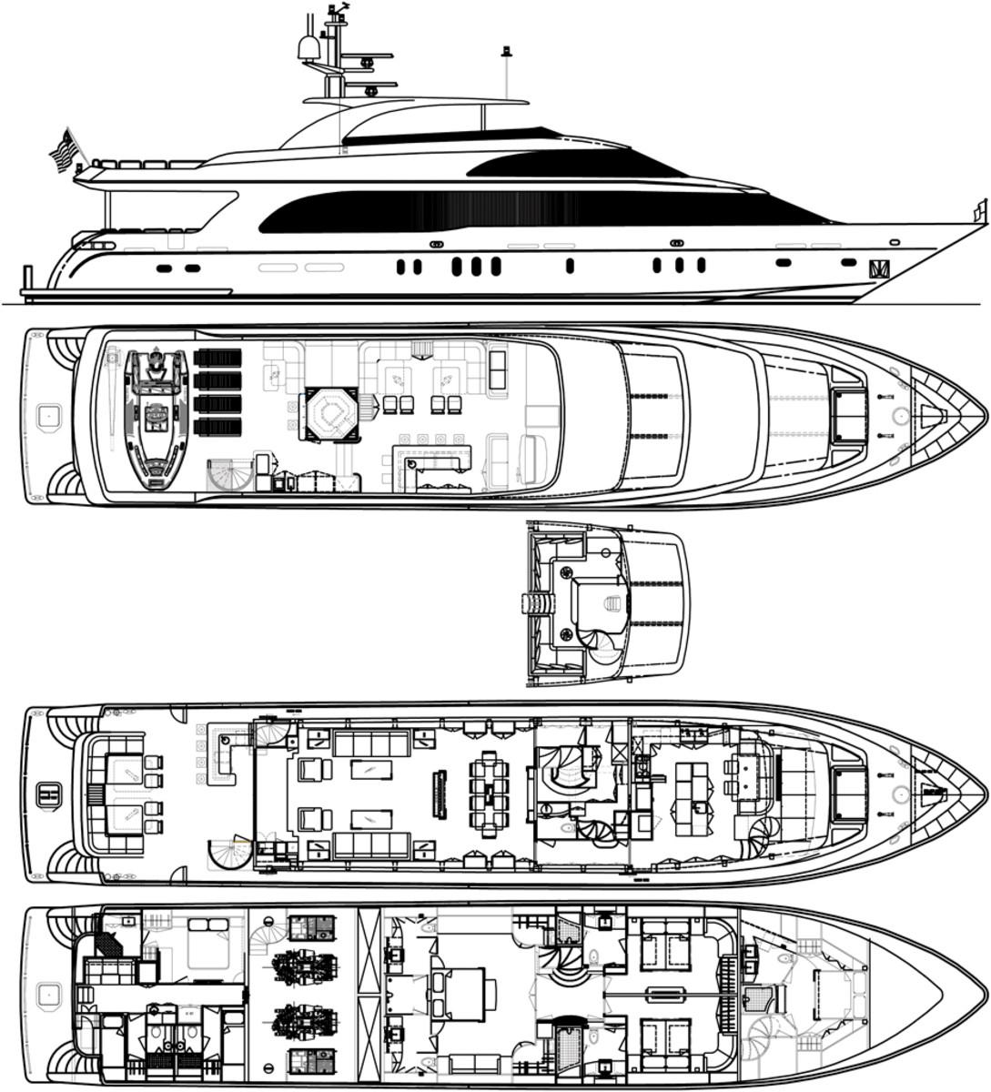Hargrave 125 deck plans