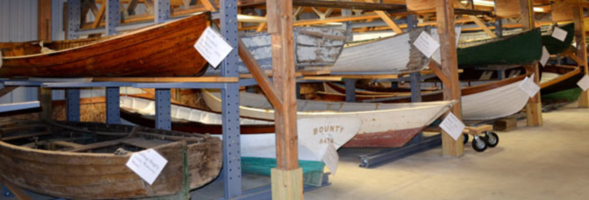 Historic Boat Collection at the Maine Maritime Museum; Bath, Maine