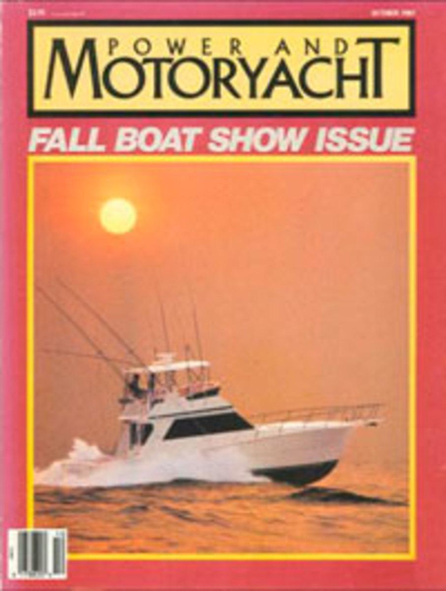 Power & Motoryacht October 1987 cover