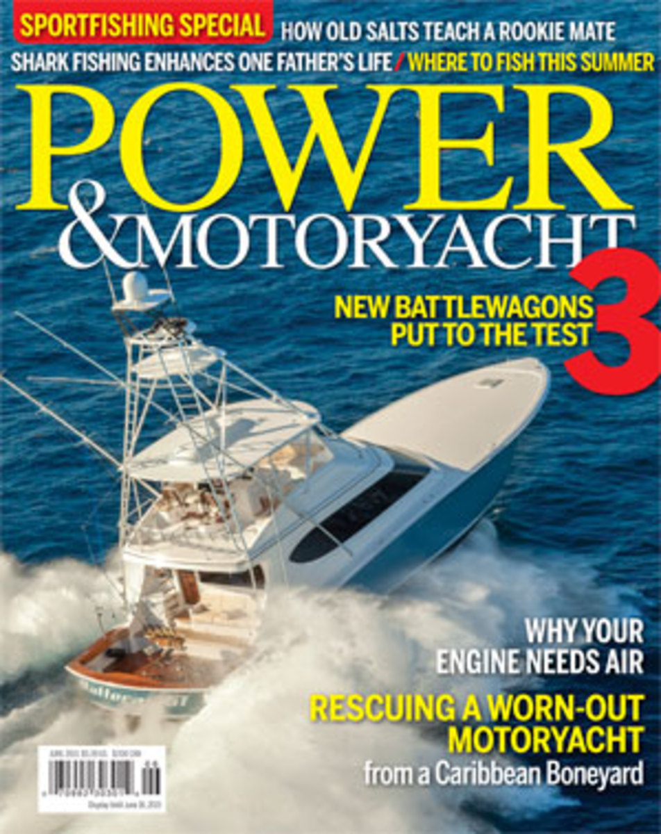Power & Motoryacht June 2015 cover