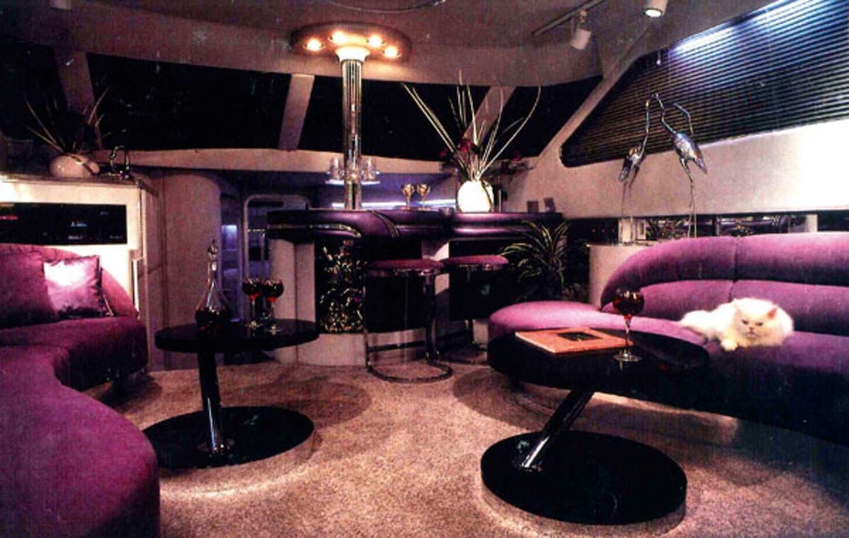 1988 Yacht interior