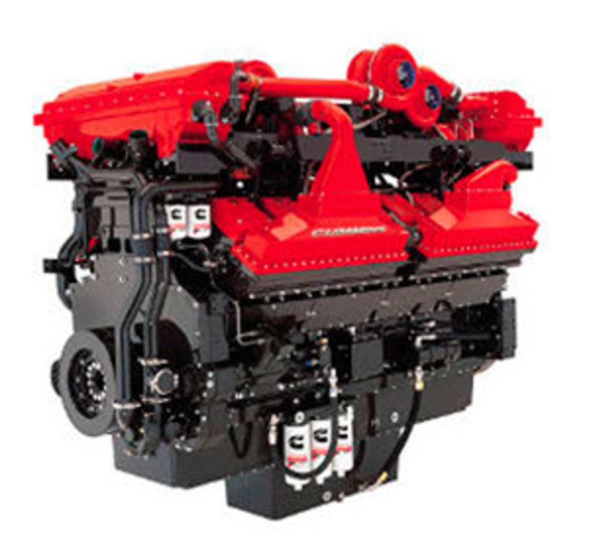 Cummins QSK series engine