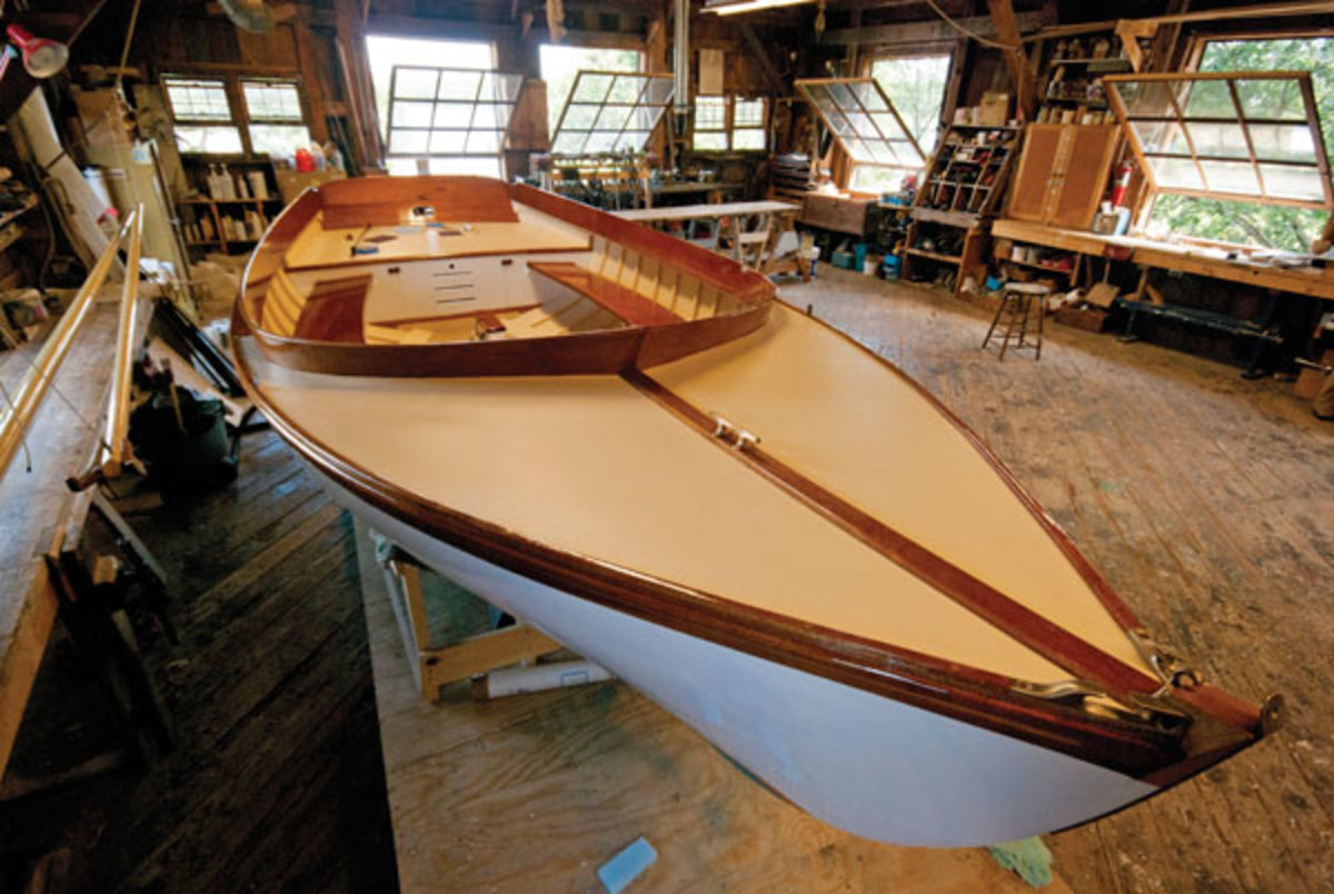 Maine Maritime Museum boatshop